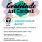Attitude of Gratitude Art Contest with NIFCS