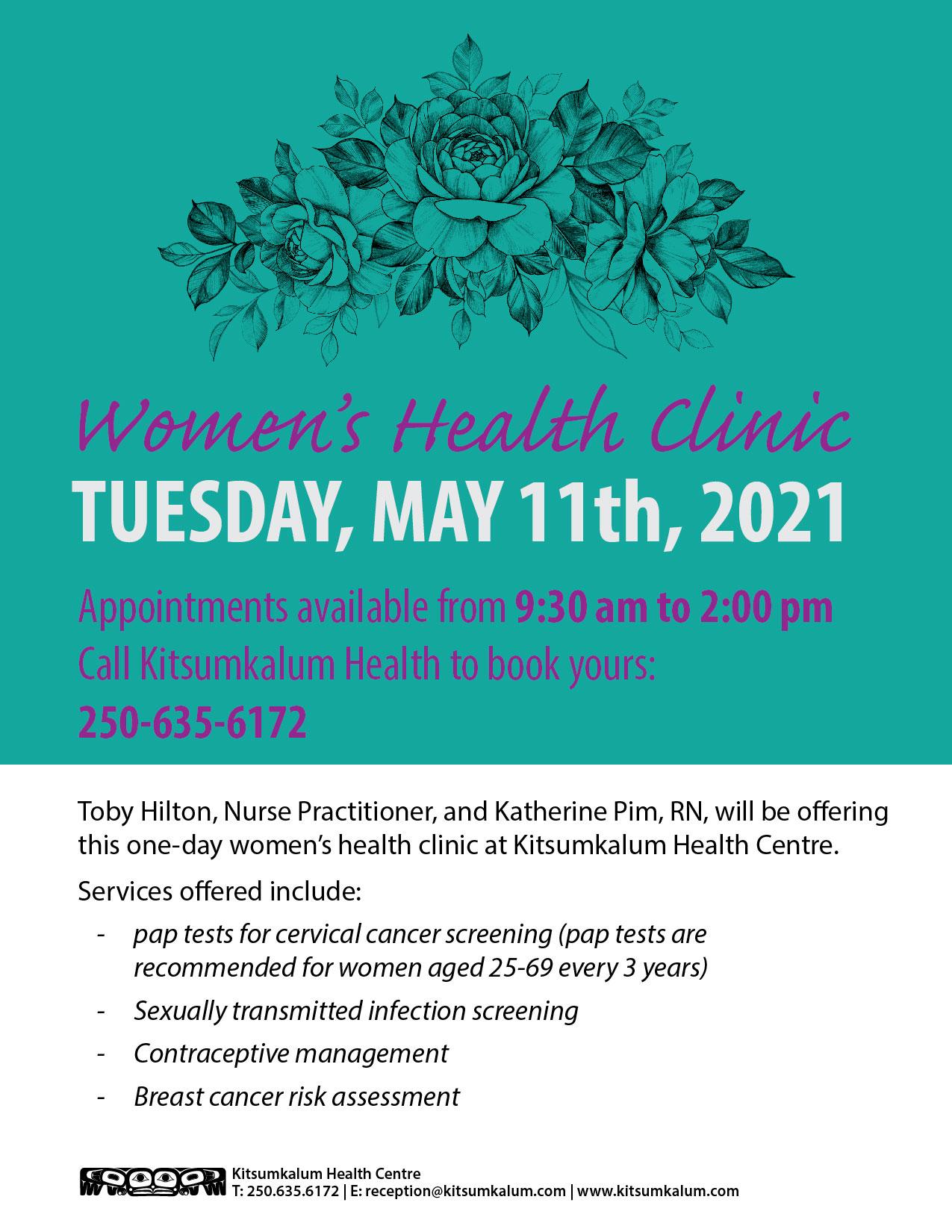 Women's Health Clinic at Kitsumkalum Health Centre