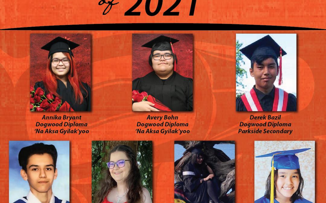 Kitsumkalum Graduates of 2021