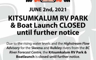 Kitsumkalum RV Park & Boat Launch Closed Until Further Notice