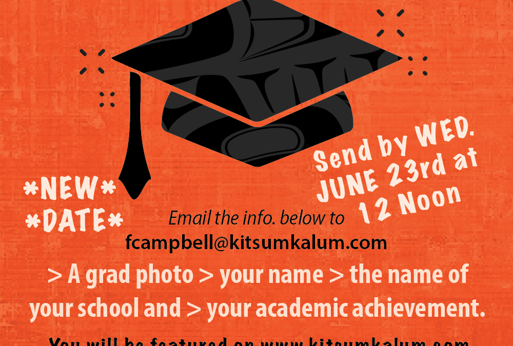 Kitsumkalum 2021 Graduates