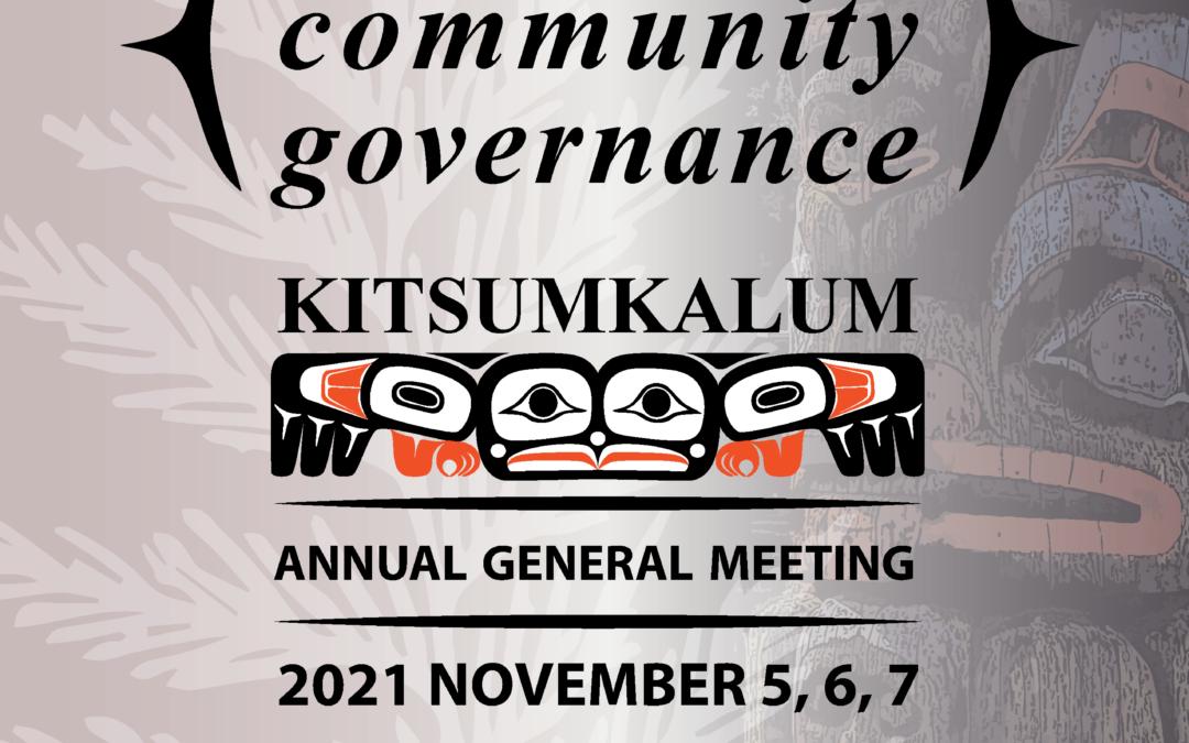 AGM 2021 – November 5,6,7