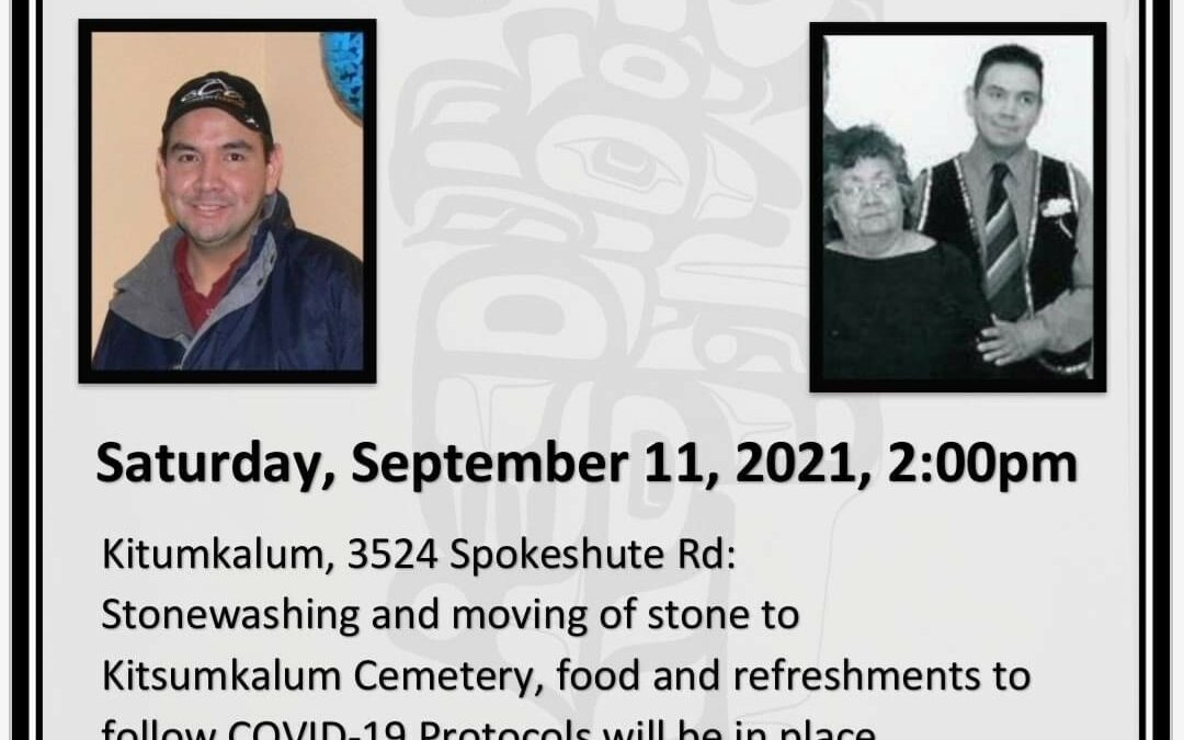 Stonemoving arrangements for the late Dale Roberts